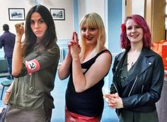 The Cheka girls at Red Dawn? Megagame. After Action Report by BeckyBecky Blogs