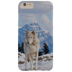 30% off all cases today Cyber Monday Coupon code ZAZCYBER2014 at checkout Wolf & Mountain Wolf-Lover Wildlife Art Barely There iPhone 6 Plus Case