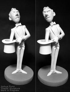 Presto #maquette by Joshua Flynn