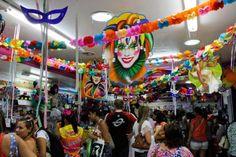 decoração de carnaval em ruas - Pesquisa Google