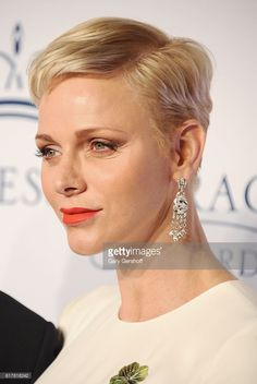 Her Serene Highness Princess Charlene of Monaco attends the 2016 Princess Grace Awards Gala  at Cipriani 25 Broadway on October 24, 2016 in New York City.  (Photo by Gary Gershoff/WireImage)