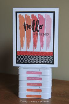 Flaunt Your Creativity: National Stamping Month Blog Hop, CTMH, Hello Life Stamp Set