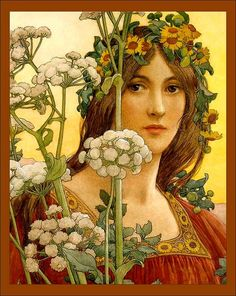 Our Lady of the Cow Parsley Elisabeth Sonrel