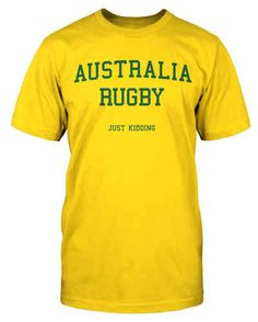 Funny Australia Rugby Shirt