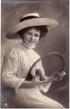Tennis was first played in America in c.1874, Staten Island, NY. The sport, and formation of tennis clubs, became very popular during America's Gilded Age era. ~ {cwl} ~~ (Image: missgracieshouse)