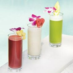 Detox juice recipes  These detox coolers are full of health-enhancing concentrated nutrients – serve them as they are, or chill them a littl...