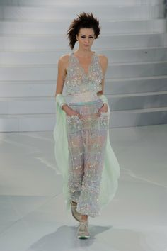 Chanel Haute Couture Fashion Week Spring 2014 --- Karl Lagerfeld Gets Sporty at Chanel Haute Couture