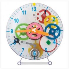 Make Your Own Mechanical Clock 31 Pieces - The Gift and Gadget Store