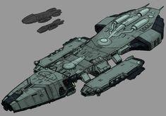 Battlestar Atlantia by Norsehound.deviantart.com on @DeviantArt