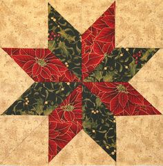 Neighborhood Quilt Club: Eight Pointed Star - Quilt Block Tutorial