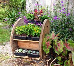 carretel jardín