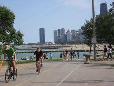 clf-16 Chicago Lake, Lake Front, Street View