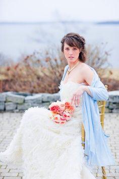 Pastel Blue Pink Wedding Inspiration from Corbin Gurkin Photography