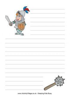Knight Papel de escribir