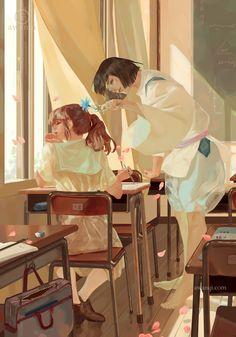 Image about love in Studio Ghibli by RikaOsaka Hayao Miyazaki, Studio Ghibli Art, Studio Ghibli Movies, Studio Ghibli Quotes, Totoro, Personajes Studio Ghibli, Chihiro Y Haku, Howls Moving Castle, Illustration