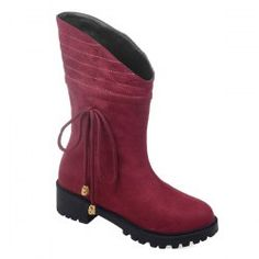 SHARE & Get it FREE | Suede Dark Colour Stitching Mid-Calf BootsFor Fashion Lovers only:80,000+ Items • New Arrivals Daily • Affordable Casual to Chic for Every Occasion Join Sammydress: Get YOUR $50 NOW!