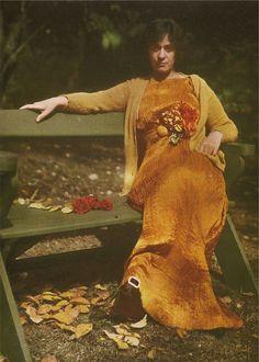 Alfred Stieglitz - Mrs. Selma Schubart, 1907. Autochrome