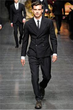 mensfashionworld:    Dolce & Gabbana Fall Winter 2012