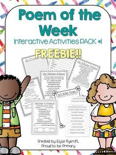 Poem of the Week Interactive PACK #1 FREEBIE