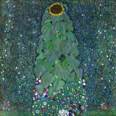 malinconie:  Gustav Klimt, The Sunflower, 1907andFarm Garden... - http://wp.me/p6qjkV-945  #Art