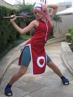 Sakura, Naruto cosplay.