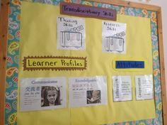 Documentation board. Learner Profile, Research Skills, Classroom Environment, Comfortable Sandals, Crossover, Rocks, Teaching, Board, Fitness