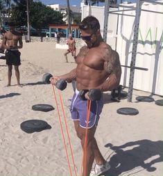 Size On Combines Classic Lifts With The Physique Altering Power Of Resistance Band Training. Everything You Need To Get You Growing And Get You Growing Fast. Mass Building, Building Systems, Muscle Building, Build Muscle, Exercises, Workouts, Resistance Band Training, Free Weights, Brown Dog