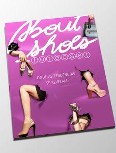 About Shoes – Forecast lançamento do espaço – sobrecapa revista