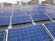 Solcellepanelet på Fornebu S Solar Panels, Old And New, Norway, Outdoor Decor, Sun Panels, Roof Solar Panels