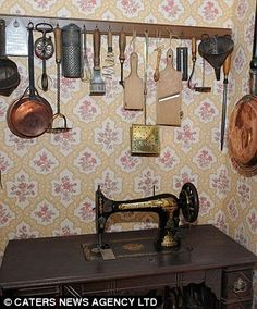 (Kitchen ref; I don't think the sewing machine would be in the food area). The real thing: Experts agree that Peter has really got into the character of the place and that the house genuinely reflects Victorian times