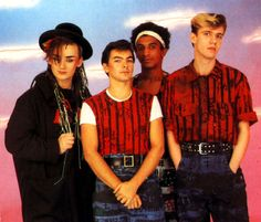 Culture Club - I loved Boy George but didnt realize he'd never love me the same way :(