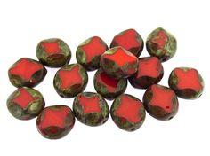 Happy Mango Beads - Czech Glass Beads 9mm (CZ514), $4.50 (http://happymangobeads.com/czech-glass-beads-9mm-cz514/)