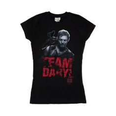 Shop for Womens Team Daryl Tee in Black at Journeys Shoes. Shop today for the hottest brands in mens shoes and womens shoes at Journeys.com.Forget werewolves and vampires. These days its all about crossbow-wielding zombie slayers. Proudly show your Team Daryl support. Walking Dead themed ladies tee with front graphic. 100% cotton.