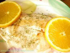 Grilled Citrus Tilapia...Healthy, easy and naturally gluten-free!