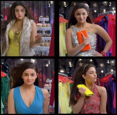Alia Bhatt's entrance in the movie SOTY song Gulabi Aankhein Bollywood Outfits, Bollywood Girls, Bollywood Actors, Bollywood Celebrities, Bollywood Fashion, Beautiful Outfits, Cool Outfits, Alia And Varun, Student Of The Year