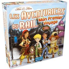 18db81f7810 Les Aventuriers du Rail, mon premier voyage Europe (Days of wonder)