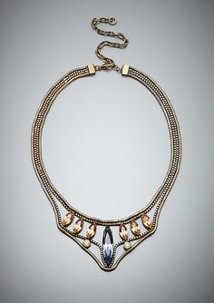 LIONETTE  Arrowhead Collar Necklace  Designed exclusively for Ideeli