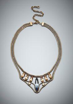 LIONETTE  Arrowhead Collar Necklace  Designed exclusively for Ideeli