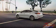 Hyundai elantra 2017 màu trắng