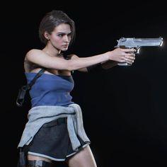 Resident Evil Nemesis, Resident Evil Girl, Resident Evil 3 Remake, Jill Sandwich, Valentine Resident Evil, Ada Wong, Jill Valentine, Game Concept Art, Cool Girl