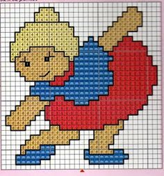 Disney Stitch, 3d Pictures, Pictures To Draw, Cross Stitch Baby, Cross Stitch Patterns, Felt Crafts, Diy And Crafts, Stitch 2, Plastic Canvas