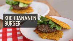 Kochbananen Burger – Paleo360.de