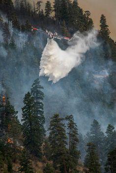 Chelan Fires; First Creek Fire, Okanogan-Wenatchee NF, WA, 2015