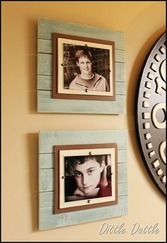 DIY wood frames