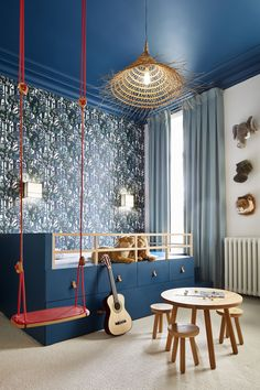 To successfully develop a modern room for adults, we almost always seek to create a relaxing atmosphere. Modern Bedroom Design, Bedroom Designs, Modern Design, Kids Room Design, Boy Room, Child's Room, Room Kids, Kids Rooms, Kids Bedroom
