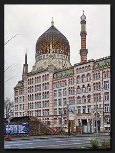 Die wunderschöne Yenidze in #Dresden