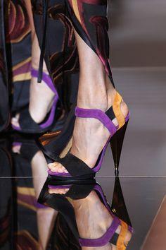 Gucci Liberty Colorblock Suede Sandal