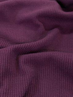 Mini Waffle Jersey - Purple Reign – Sitka Fabrics