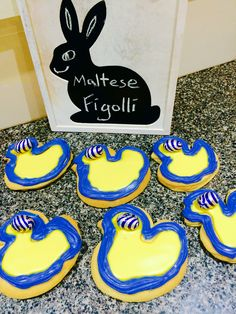 Figolli Maltese Easter biscuits