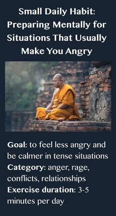 Feel less angry & be calmer in tense situations